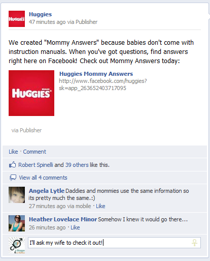 Huggies Mommy Answers