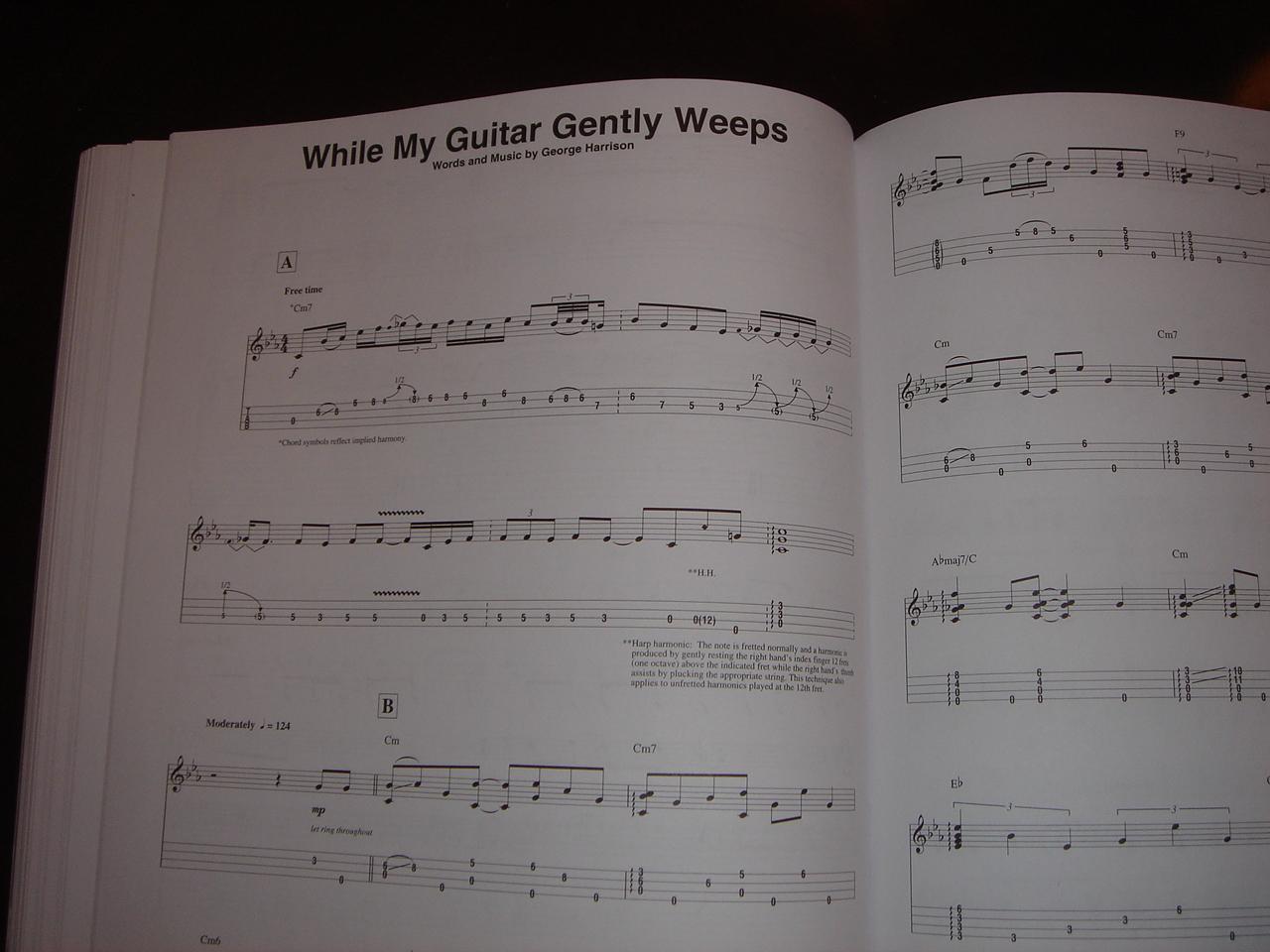 Still My Guitar Gently Weeps Chords