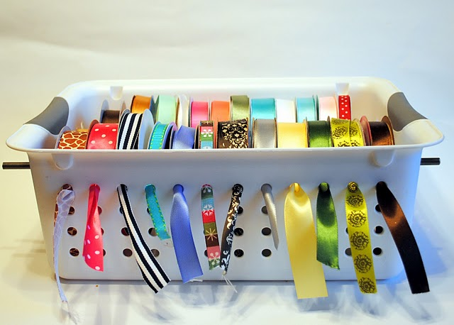 Clever Ribbon Organizer