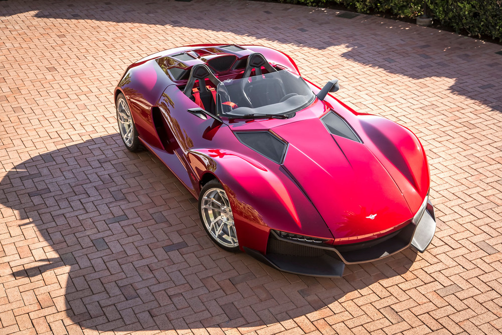 Rezvani S New 300hp Beast Speedster Costs 57k More Than A