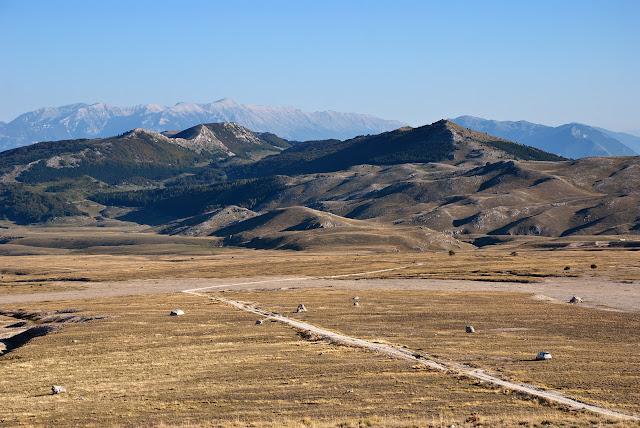 Majella vista da Campo Imperatore