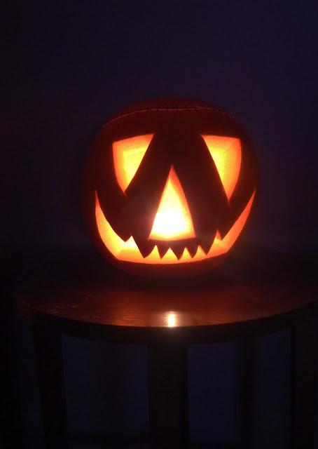 Halloween on a splendour blog