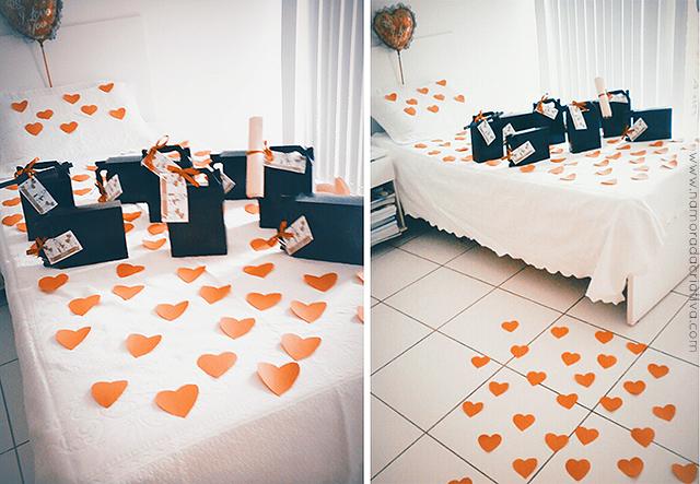 Repassa pras zamigas #MimoTodoDia Surpresa no quarto! ~ Surpresa Criativa No Quarto