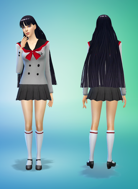 my sims 4 blog  princess venus dress and school uniforms by silvermoon
