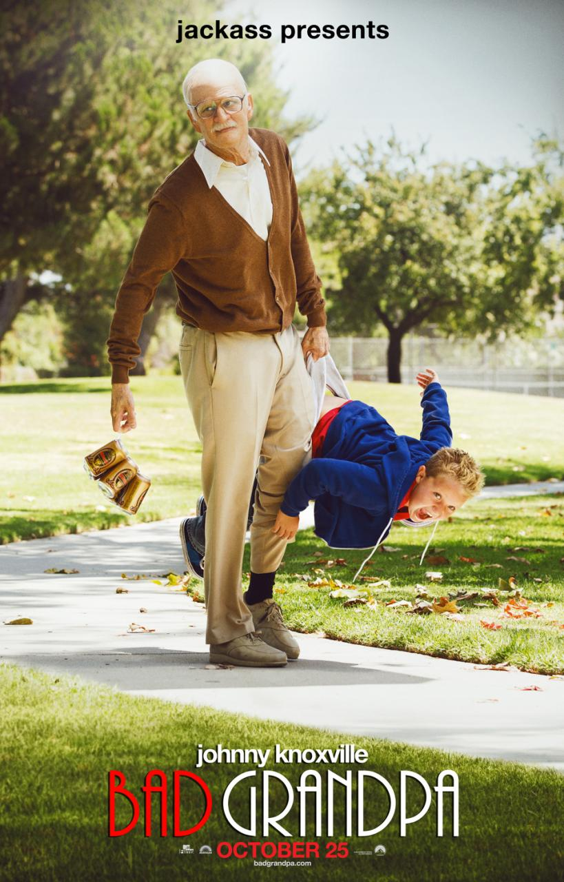 Check It Out The First Poster For Jackass Presents: Bad Grandpa