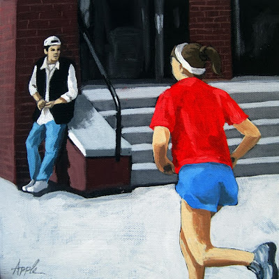http://www.applearts.com/content/red-white-and-blue-campus-jog-figurative-painting