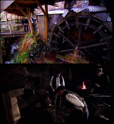 Forge - water wheel and trip hammer