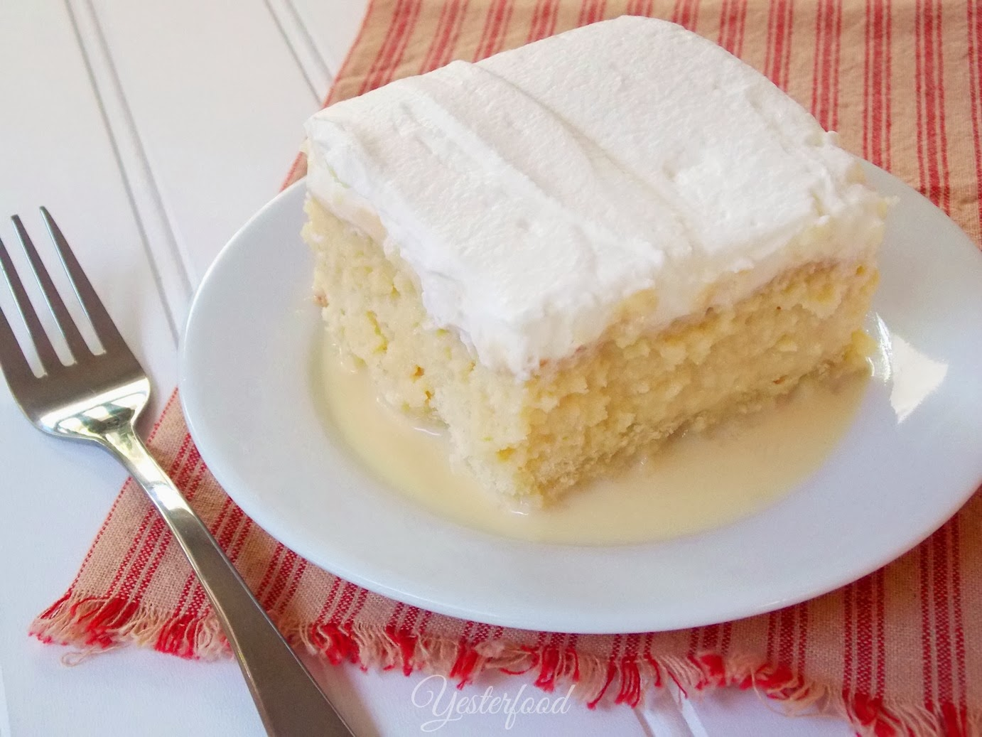 Yesterfood : Tres Leches Cake