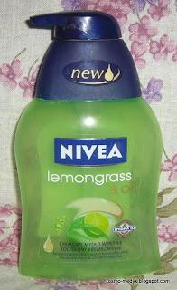 Nivea Lemongrass & Oil Kremowe mydło w płynie z formułą Hydra IQ-Recenzja