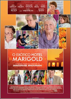 Download - O Exótico Hotel Marigold DVDRip - AVI - Dual Áudio