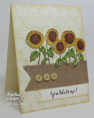 "ODBD ""Harvest Blessings"" and ""Sentiments Collection"" Card Designer Angie Crockett"