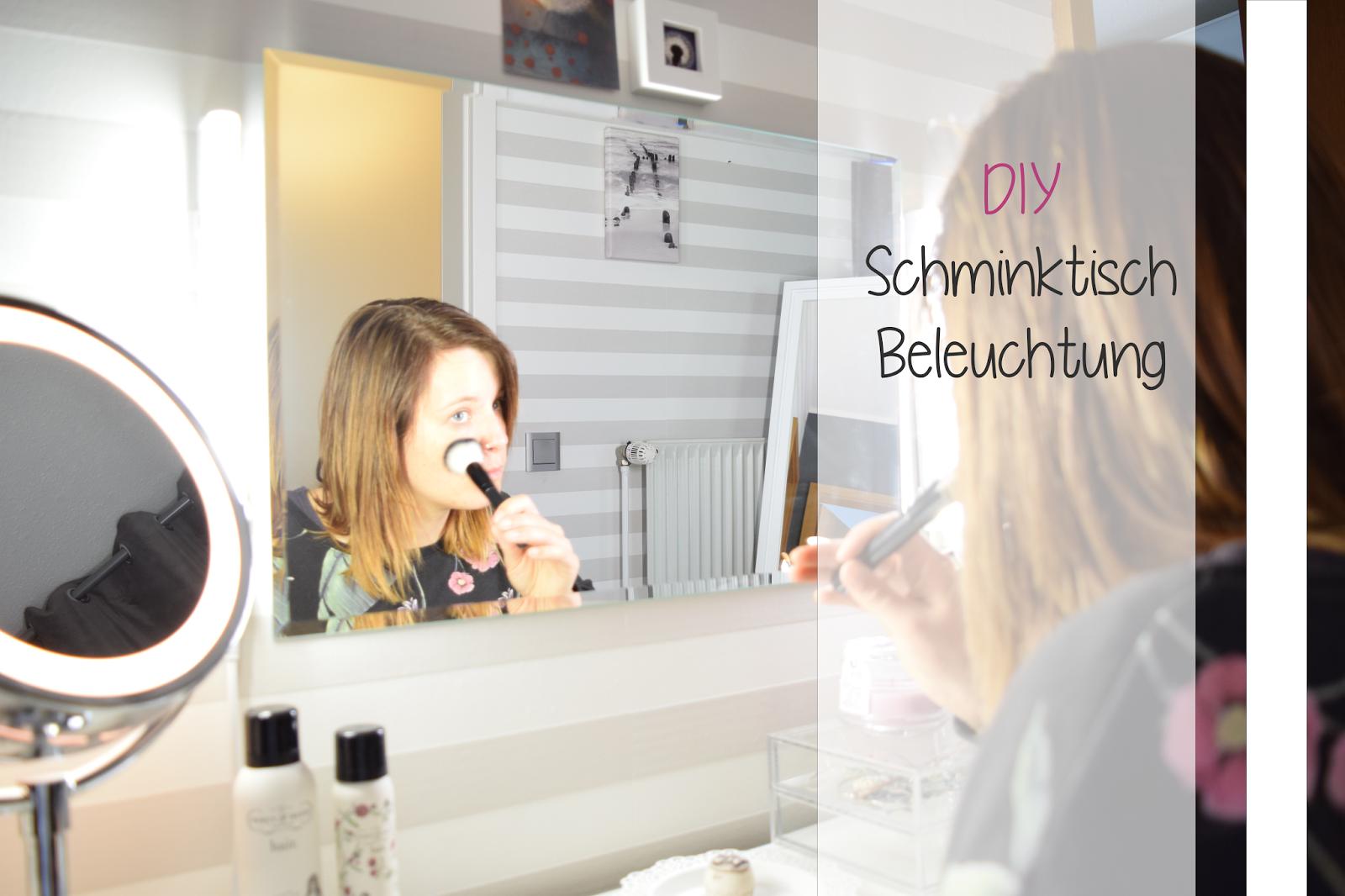 Spiegel mit beleuchtung für schminktisch  Das richtige Licht für meinen Schminktisch | ZimtZebra