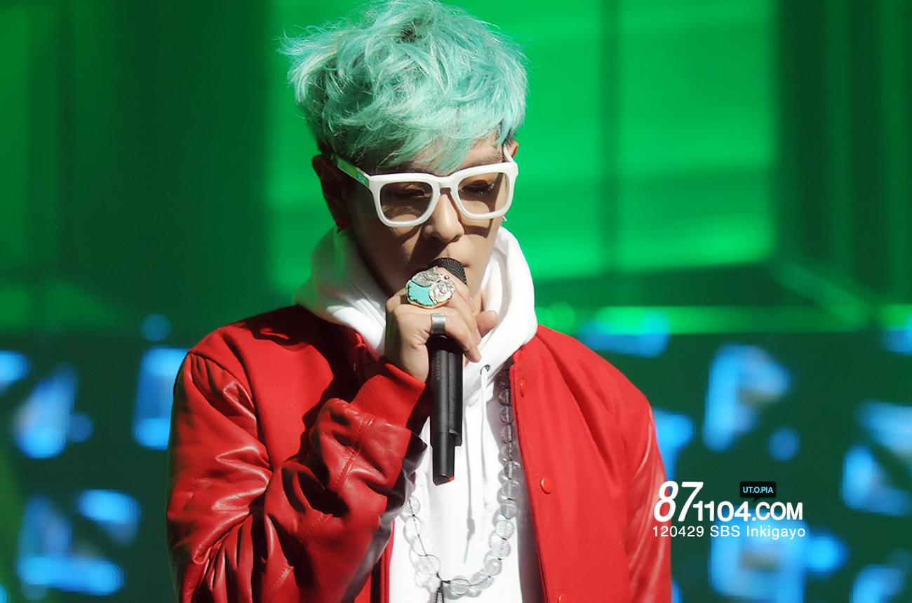 Big Bang T.O.P after Inkigayo