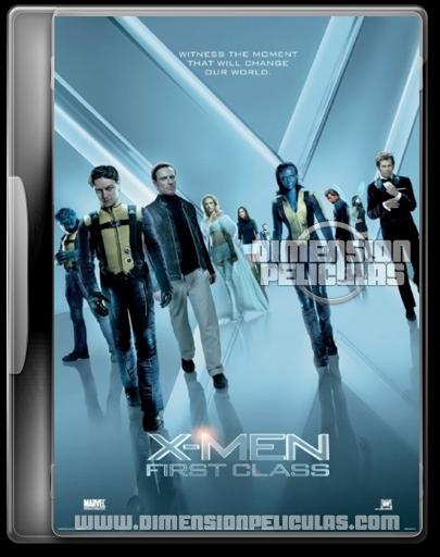 X-Men: First Class (BRRip HD Ingles Subtitulada) (2011)