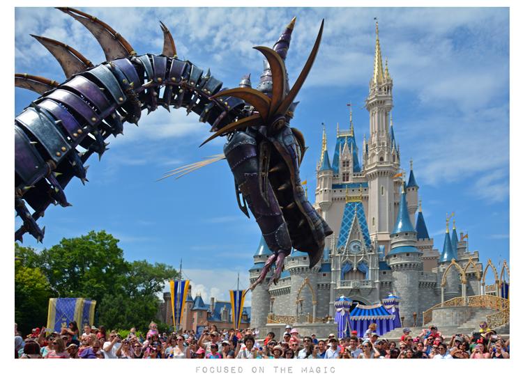 Silent Sunday in the Parks - Disney's Festival of Fantasy Magic Kingdom Parade