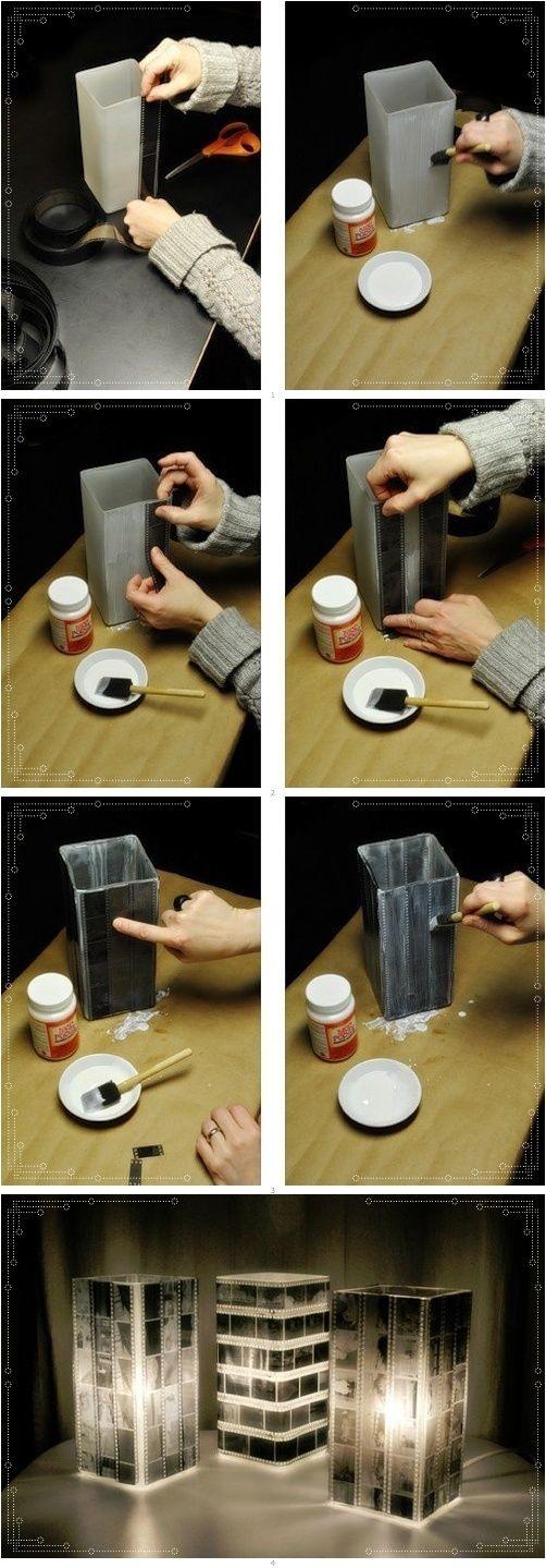 Reutilize negativos de filme
