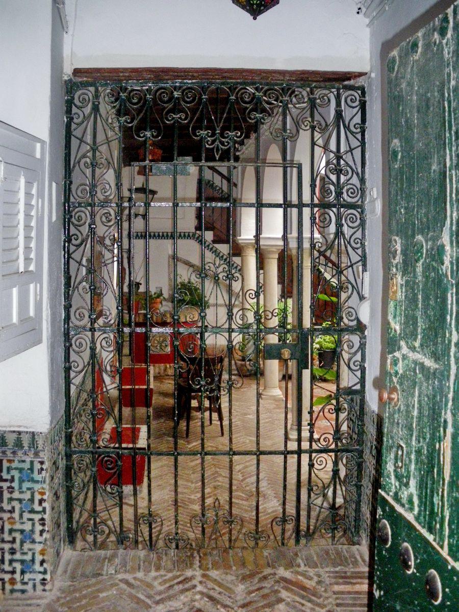 Patios Sevillanos 5 Calle Pimienta Santa Cruz Aznalfarache # Muebles Sevillanos