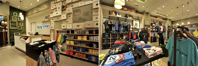 Human clothing store