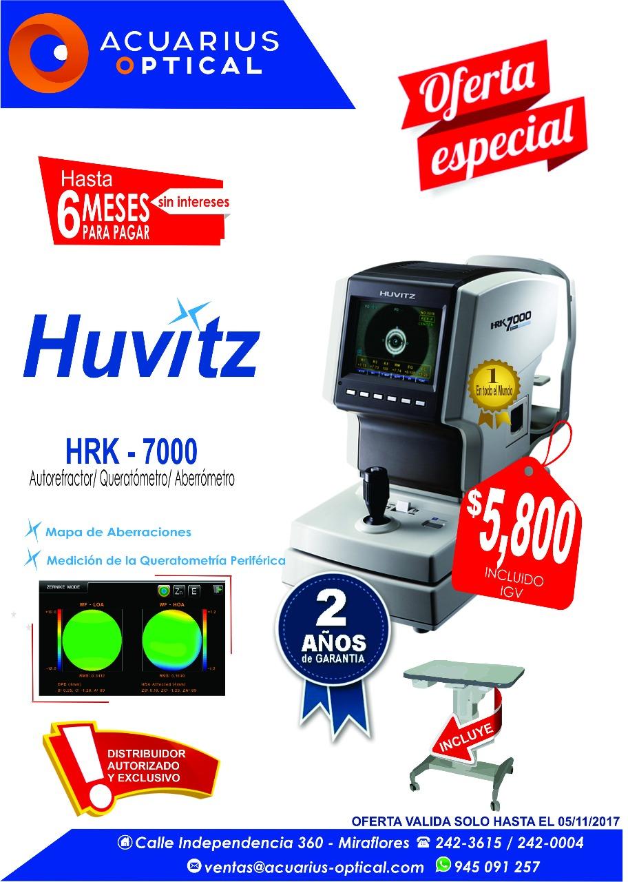 HUVITZ HRK-7000 VENTA $ 5,800 2 AÑOS