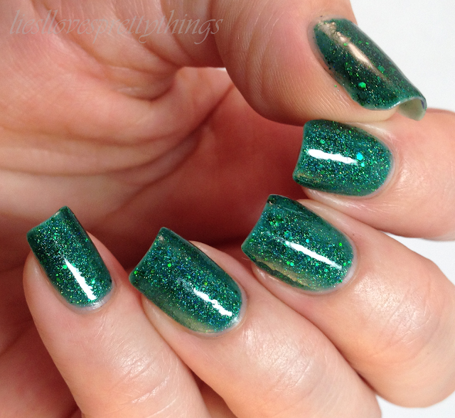 Glam Polish Cast A Spell Conjuring swatch and review