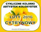 CYKLICZNE KOLORKI - LUTY 2016
