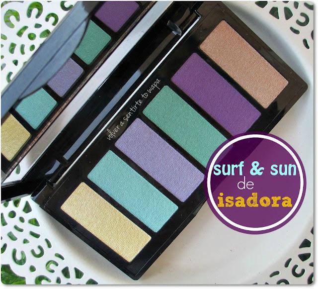 Paleta Surf & Sun de ISADORA - Review, Swatches y Maquillaje