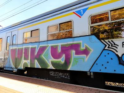 VIKY graffiti