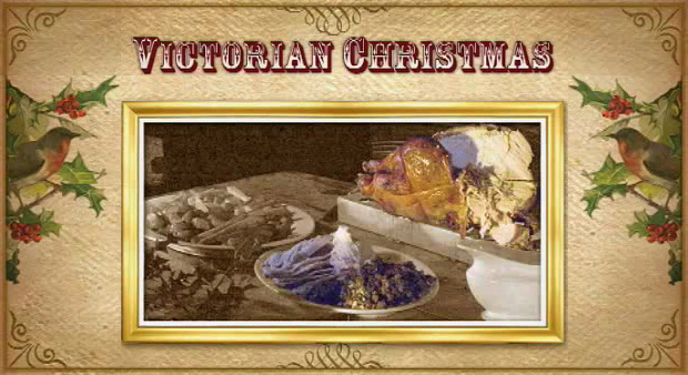 Victorian Christmas Food and Drink