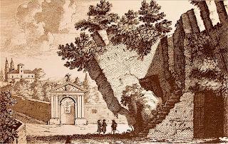 Il tratto 'torto' nel 1600 (incisione di P. Schenck)