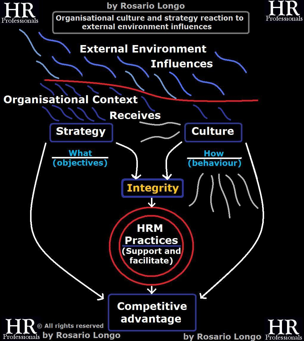 strategy and culture An overview of the role of business culture in strategy.