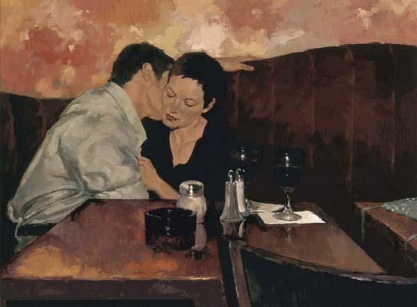 Joseph Lorusso 1966   American Figurative painter