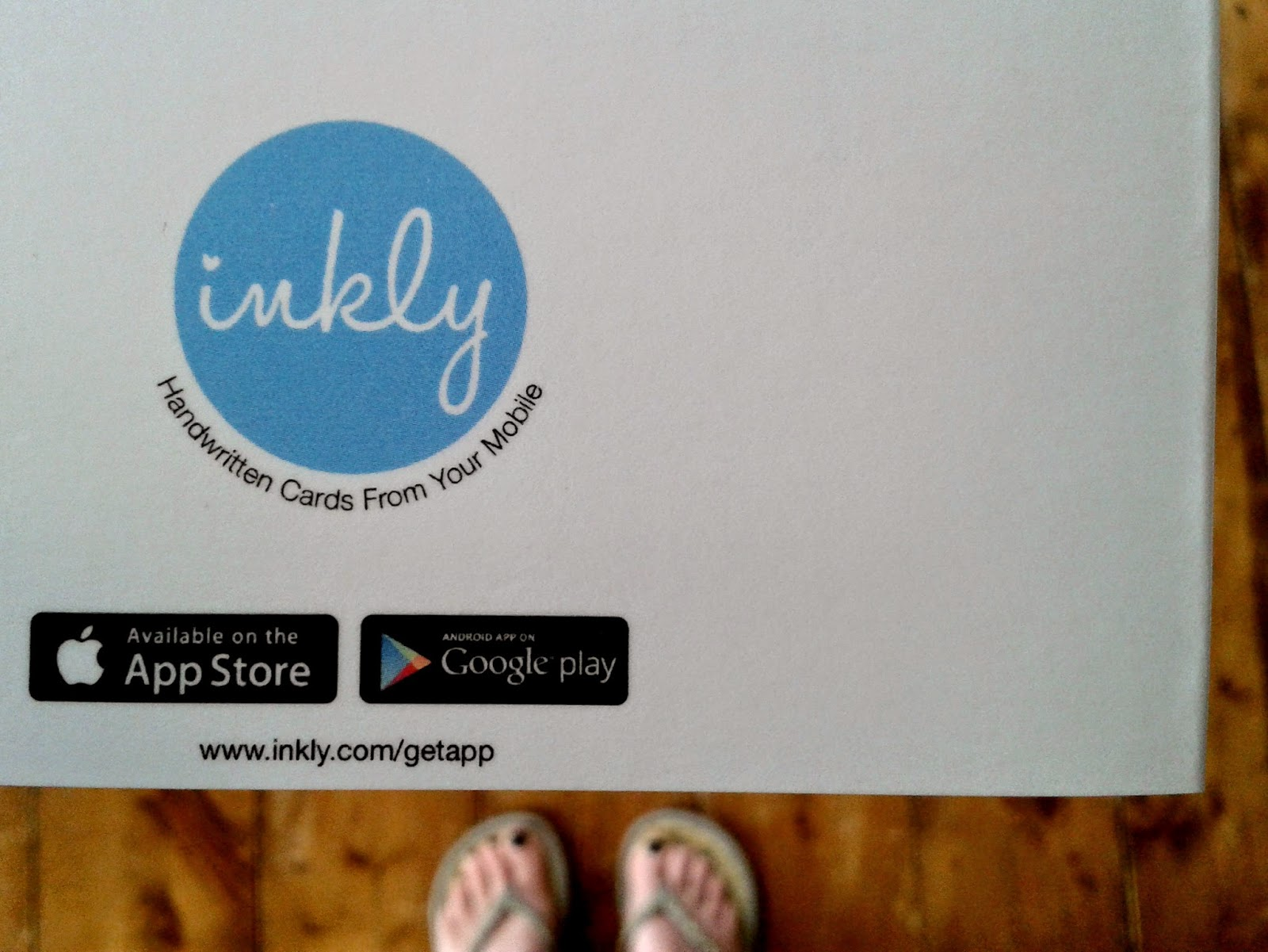 Inkly Cards App Review // 76sunflowers
