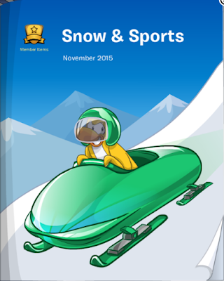 Club Penguin Snow & Sports Catalog November 2015