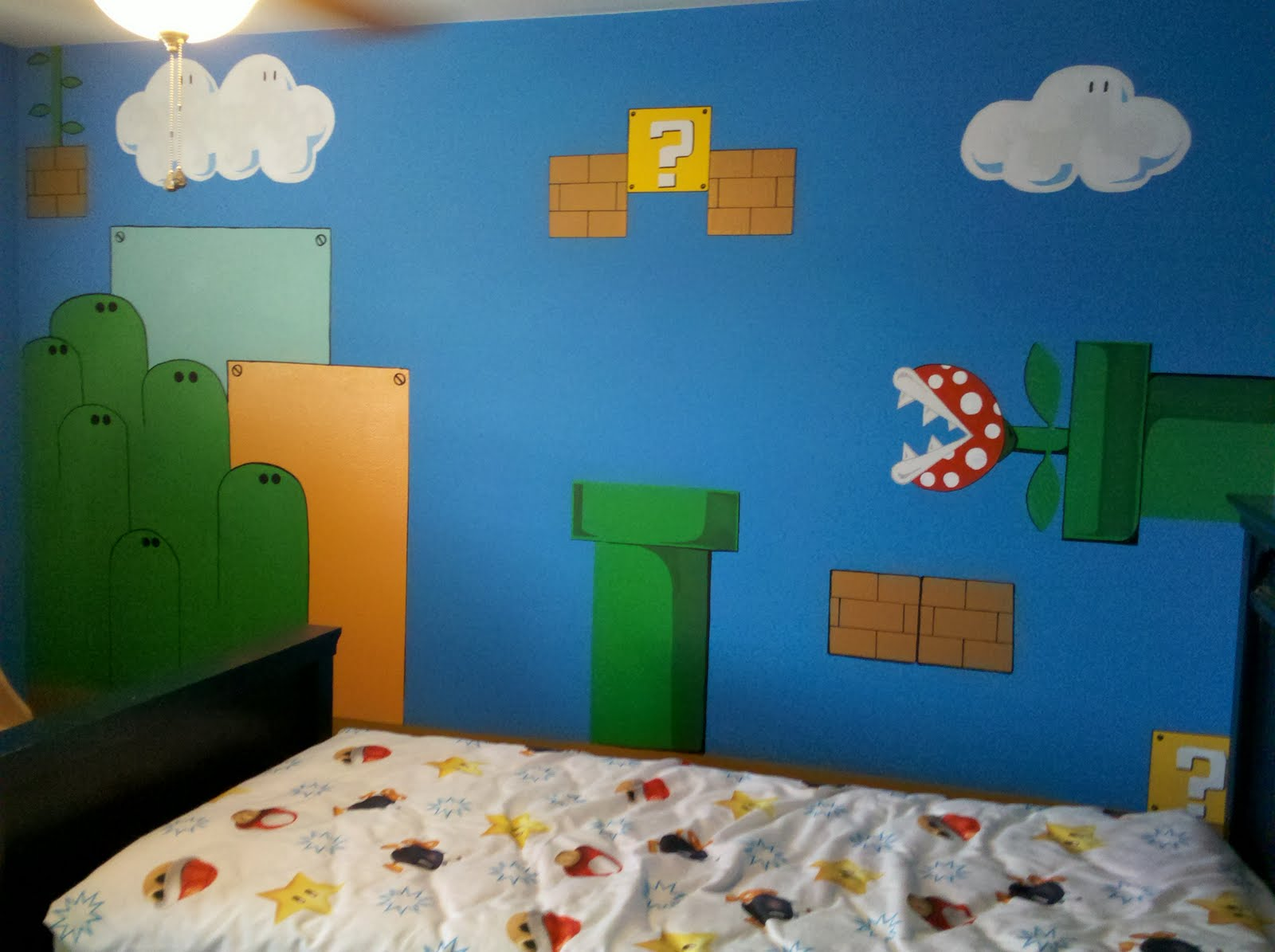 esqueda ink super mario bros wall mural