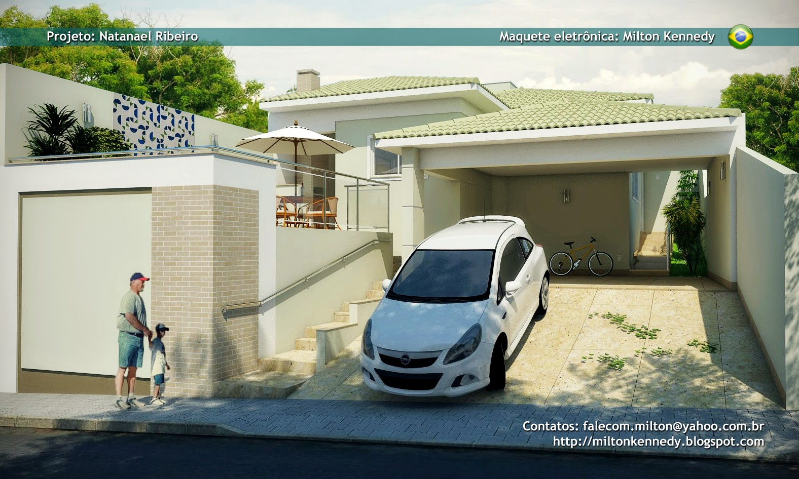 Maquete Sketchup Vray