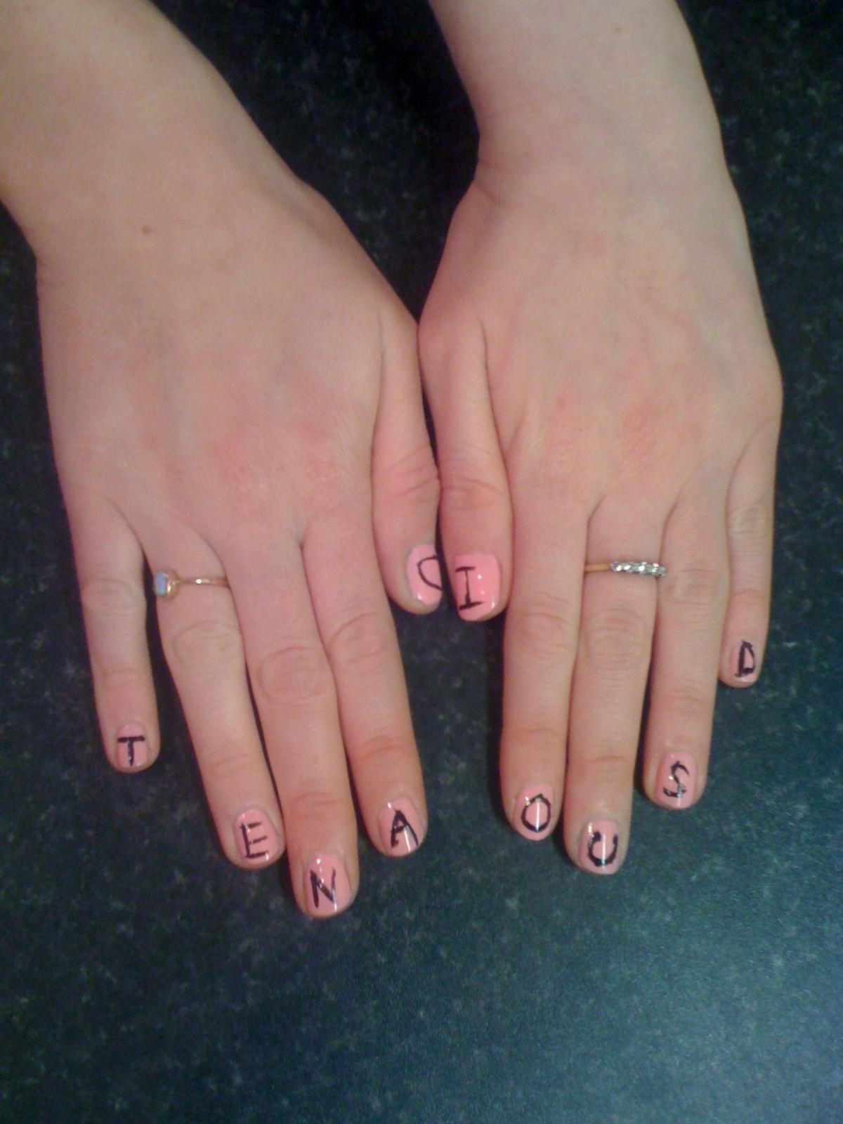Nail Designs: Tenacious D Nails
