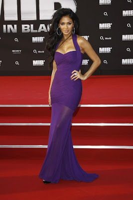 nicole scherzinger at men in black 3 germany premiere cute stills