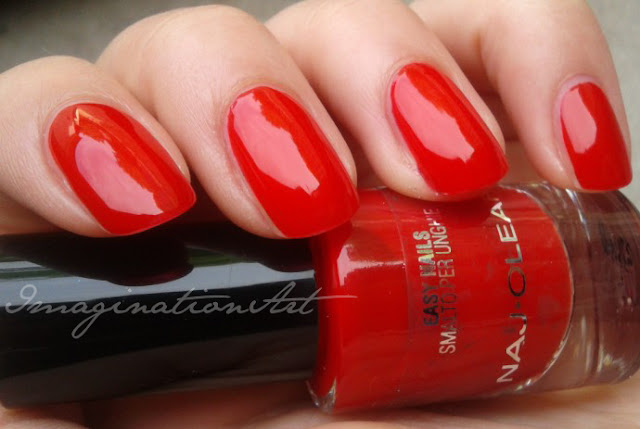naj oleari smalto nail polish lacquer unghie swatches swatch rosso red make up