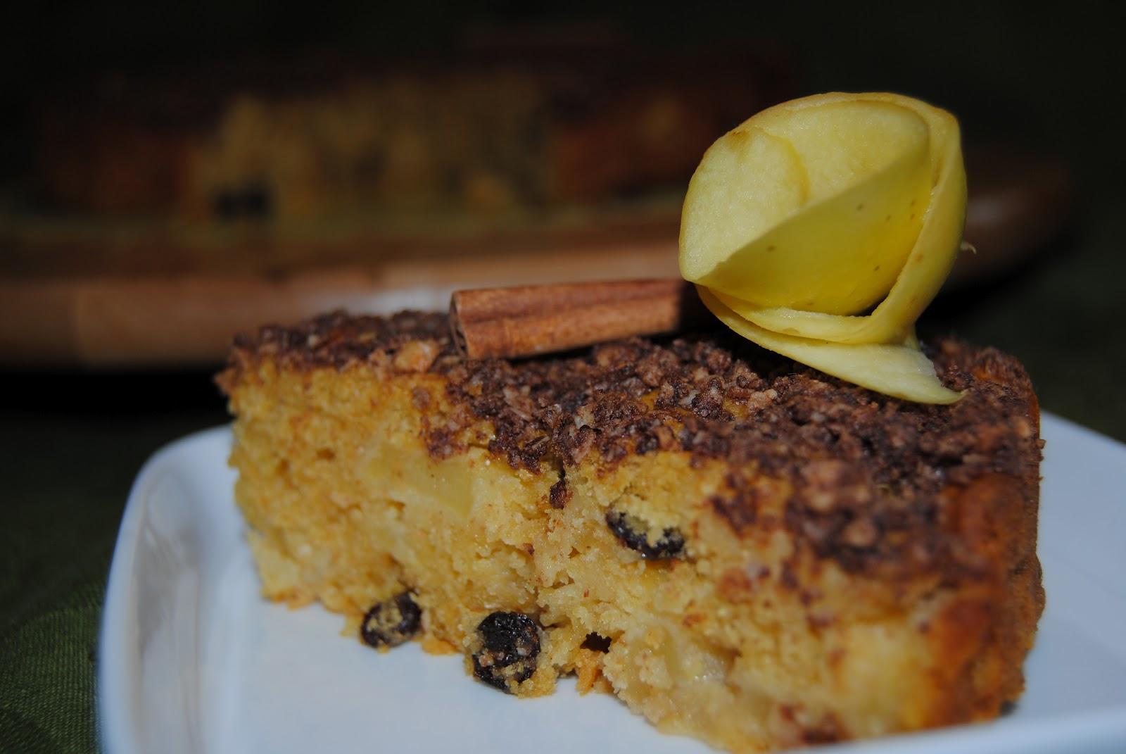 Mis recetas antic ncer bizcocho de manzana y canela por for Bizcocho de manzana y canela