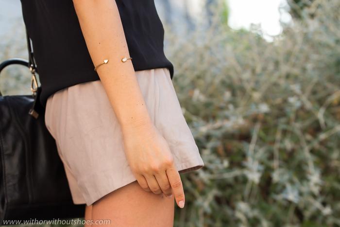 Blogger con joyas de Tous