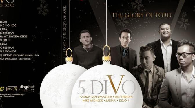 5 divo Lirik Lagu 5 DIVO   Natal Kasih Terindah