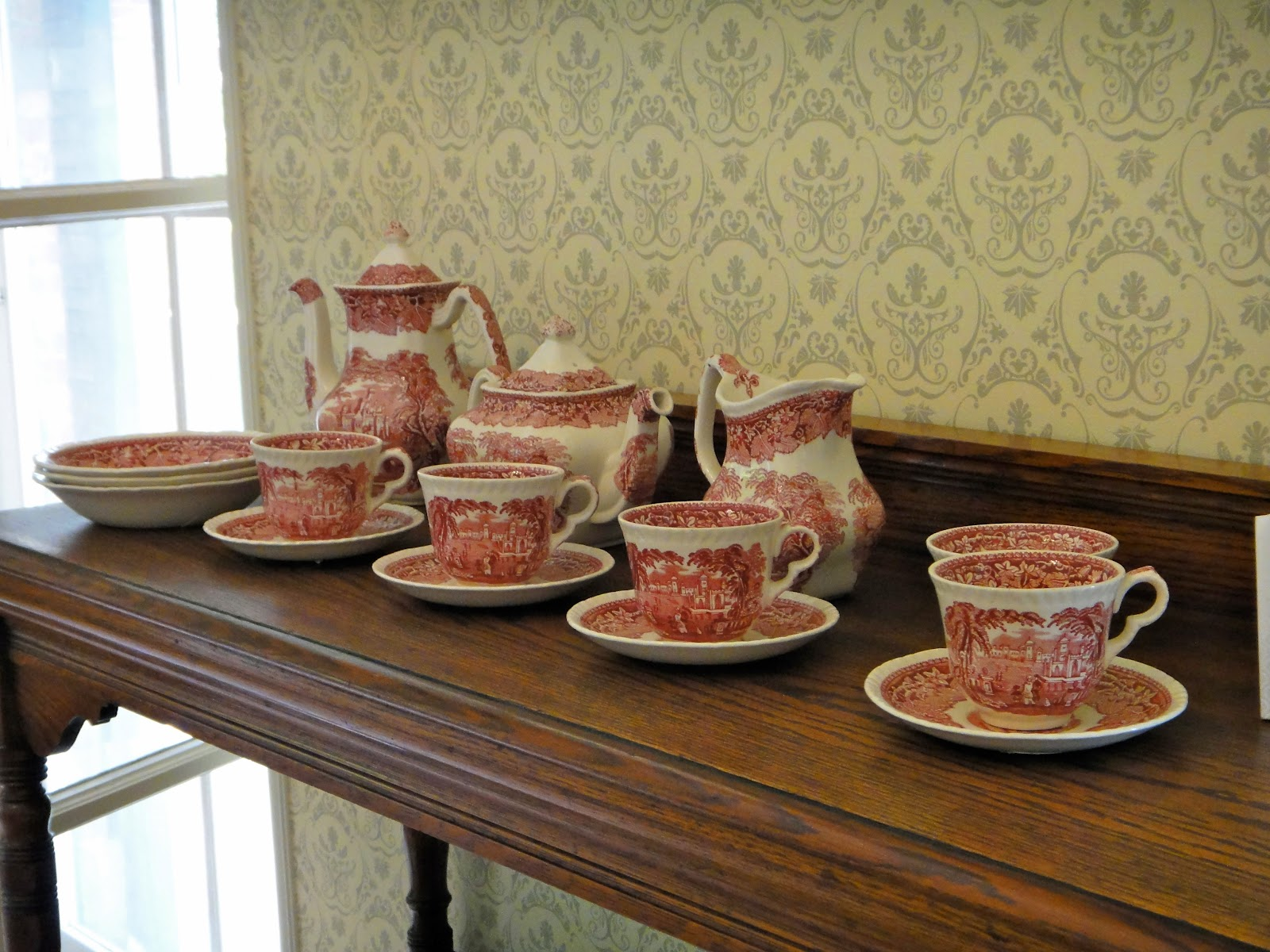 Afternoon tea cups British Consular Residence Tamsui