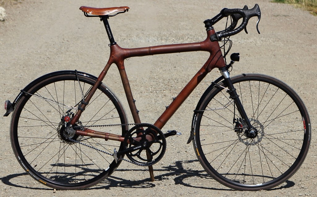 The Monkey Lab: Calfee Design Bamboo Road Bike with Rohloff SPEEDHUB ...