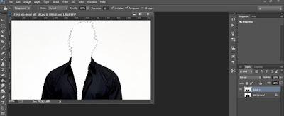Tutorial belajar Photoshop Cara Menghilang Kepala
