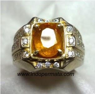 Jenis Batu Permata : Batu Permata Yellow Sapphire