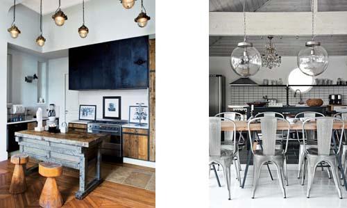 Una cucina dal gusto industriale: Blog Arredamento Interior Design ...