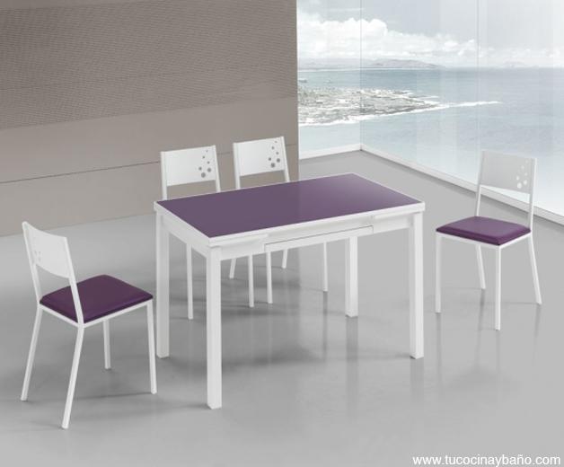 Emejing Mesas De Cocina Blancas Images - Casa & Diseño Ideas ...