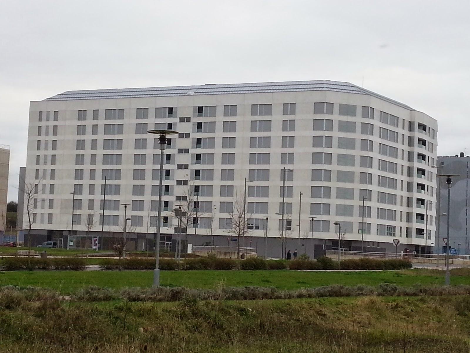 Edificio polemico en Arkayate-Arkaiate
