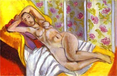 henri Matisse - Nu allongé, 1924