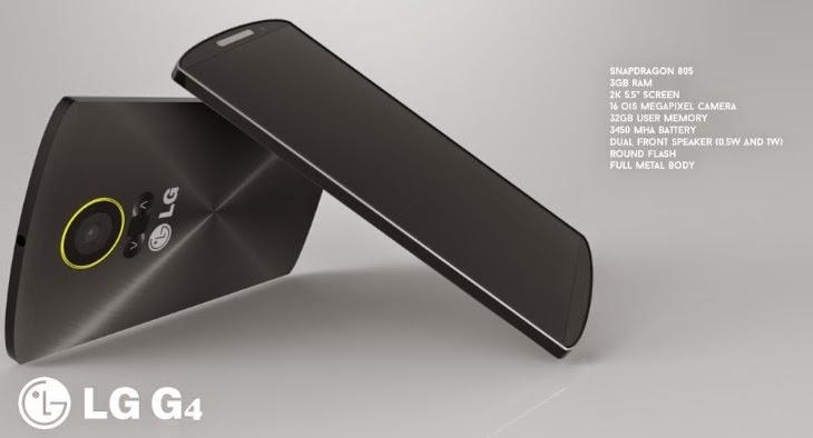شركة LG تكشف عن هاتفها الجديد كليا LG G4 بمواصفات عالية